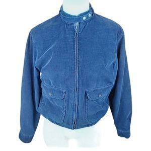 Vintage corduroy spring autumn jacket bomber